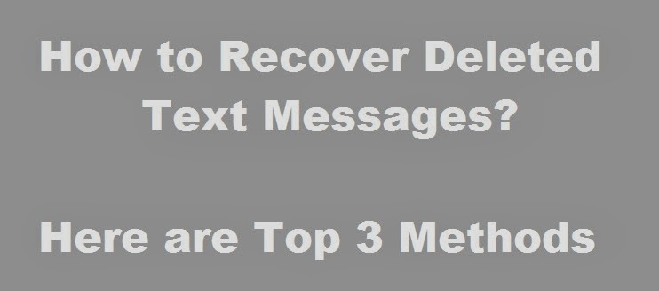how to recover deleted text messages on iphone how to recover deleted text messages from your iphone 20958